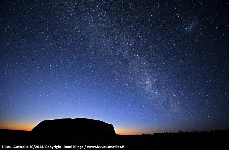 Australian suuri kiertomatka – 12.8.-5.9.2021