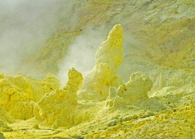 Vulkaanista toimintaa